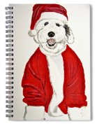 Saint Nick Spiral Notebook