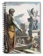 Saint Paul At Athens Spiral Notebook