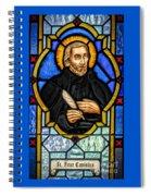 Saint Peter Canisius Spiral Notebook