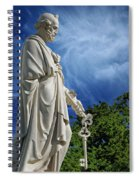 Saint Peter With Keys To Heaven Spiral Notebook