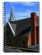 Saint Peters Roman Catholic Church In Harpers Ferry West Virginia Spiral Notebook