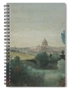 Saint Peter's Seen From The Campagna Spiral Notebook