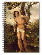 Saint Sebastian Spiral Notebook
