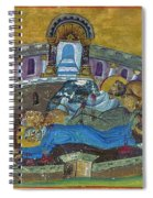 Saint Silvanus Of Emesa Spiral Notebook