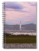 Saint Simon Island Lighthouse Spiral Notebook