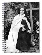 Saint Therese De Lisieux Spiral Notebook