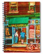 Saint Viateur Bakery Spiral Notebook
