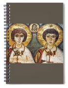 Saints Sergius And Bacchus Spiral Notebook