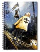 Saints Summit In New Orleans Spiral Notebook