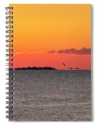 Sakonnet Point Sunrise And Lighthouse Spiral Notebook