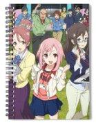 Sakura Quest Spiral Notebook