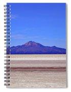 Salar De Uyuni No. 222-1 Spiral Notebook