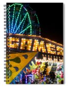 Salem Ma Halloween Carnival Games Booth Spiral Notebook