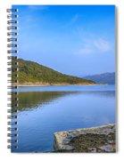 Salen Bay Loch Sunart Spiral Notebook