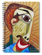 Salesman Of The Year Spiral Notebook