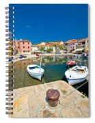 Sali Village On Dugi Otok Island Spiral Notebook