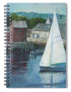 Saling In Rockport Ma Spiral Notebook