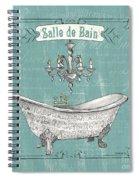 Salle De Bain Spiral Notebook