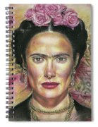 Salma Hayek As Frida Kahlo Spiral Notebook