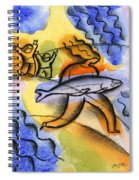 Salmon Fishing Spiral Notebook
