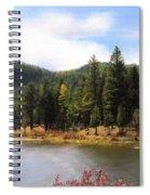 Salmon Lake Montana Spiral Notebook