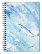 Salmon Spiral Notebook