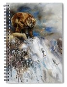 Salmon Run Spiral Notebook