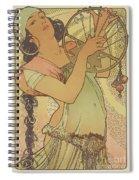 Salome, 1897 Spiral Notebook