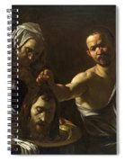 Salome Receives The Head Of Saint John The Baptist Spiral Notebook