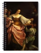 Salome With The Head Of St John Baptist 1640 Spiral Notebook