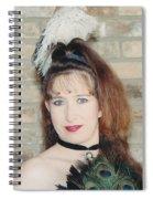 Saloon Girl Spiral Notebook