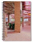 Salt Hotel, Salar De Uyuni, Bolivia Spiral Notebook