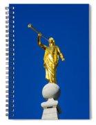 Salt Lake City Angel Moroni 2015 Spiral Notebook
