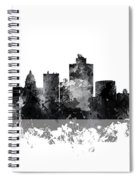 Salt Lake City Utah Skyline Spiral Notebook