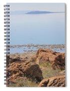 Salt Lake View 3 Spiral Notebook
