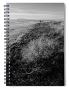 Salt Lake Walk  Spiral Notebook