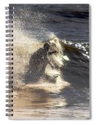 Salt Spray Surfing Spiral Notebook