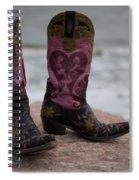 Salt Water Boots Spiral Notebook