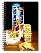 Saltine Crackers Spiral Notebook