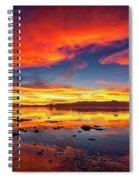 Salton Sea Sunset Spiral Notebook