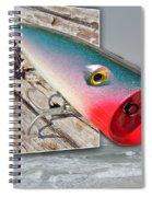 Saltwater Fishing Spiral Notebook