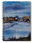 Saltwater Village Riverside Spiral Notebook