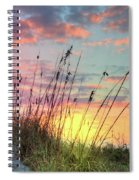 Salty Breeze On The Dunes Spiral Notebook
