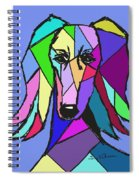 Saluki Colors Spiral Notebook