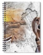 Saluki - The One And Only Spiral Notebook