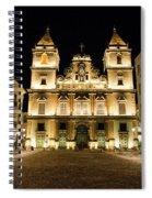Salvador Brazil Night Scene Spiral Notebook