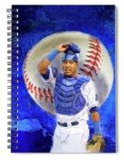 Salvador Perez-kc Royals Spiral Notebook