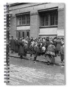 Salvation Army, 1908 Spiral Notebook
