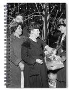 Salvation Army, 1923 Spiral Notebook