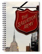 Salvation Army New York Spiral Notebook